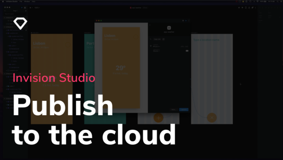 Publish and handoff with InVision Cloud