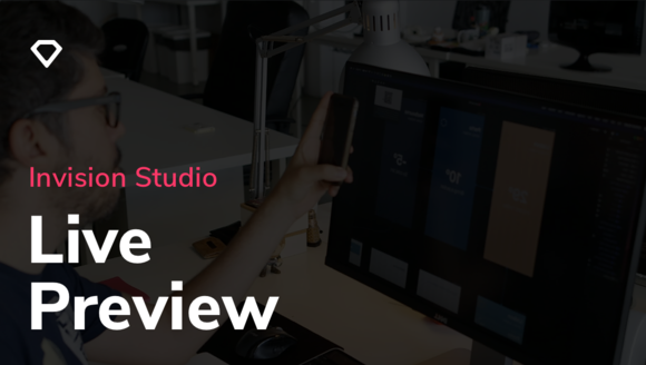 Live Preview with InVision Studio
