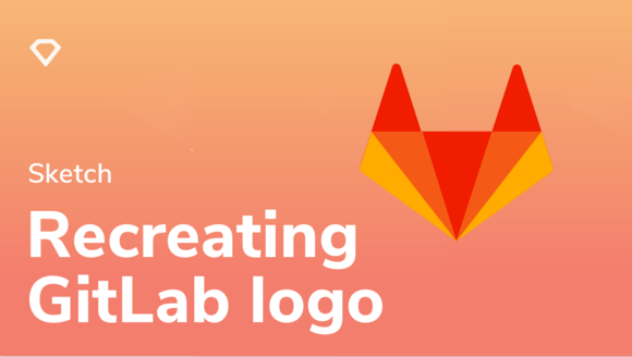 Recreating the GitLab logo in Sketch