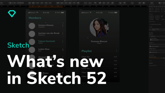 What's new in Sketch 52